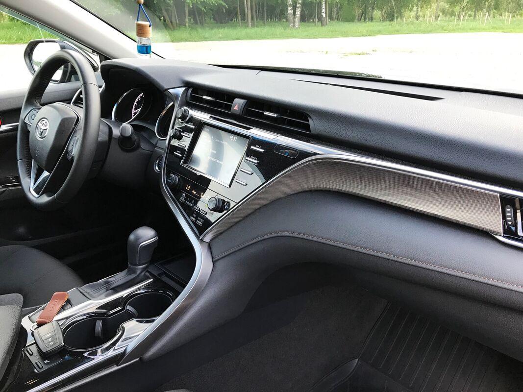 Прокат авто Toyota Camry 2019 г.в. черная - фото 7