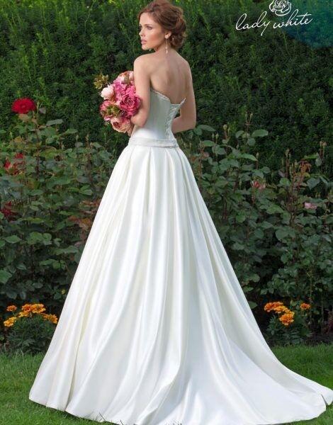 Свадебное платье напрокат Lady White Платье свадебное «Марьяна» - фото 2