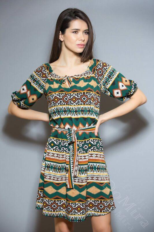 Платье женское DoMira Платье М-01-440 - фото 3