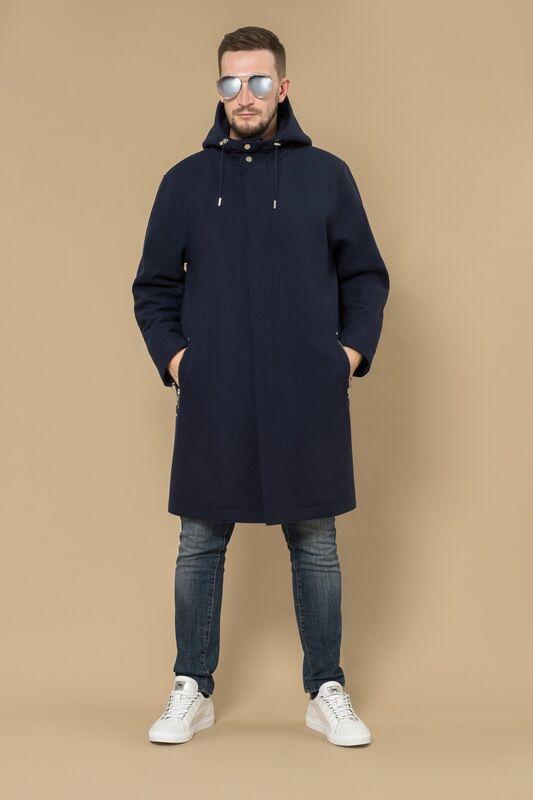 Верхняя одежда мужская Etelier Пальто мужское демисезонное 1М-8889-1 - фото 2