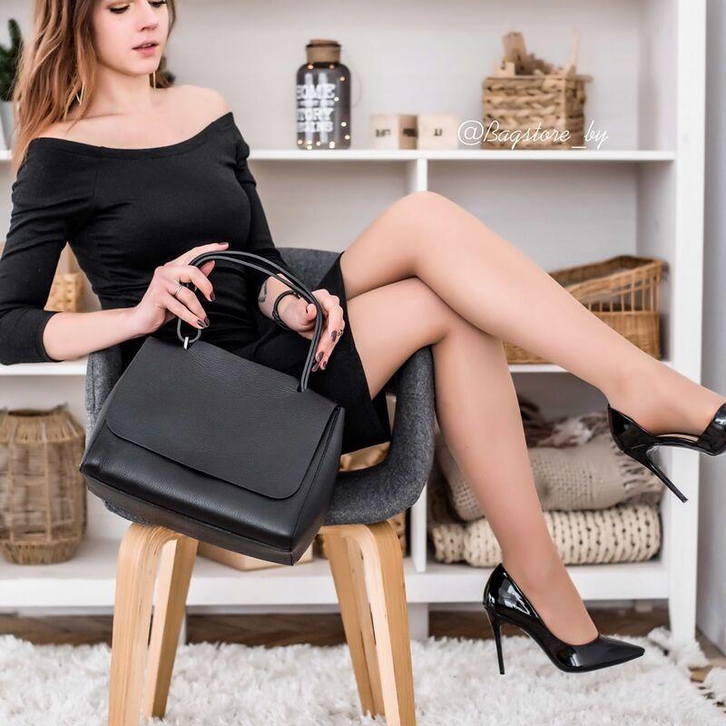 Магазин сумок Vezze Кожаная женская сумка C00425 - фото 1