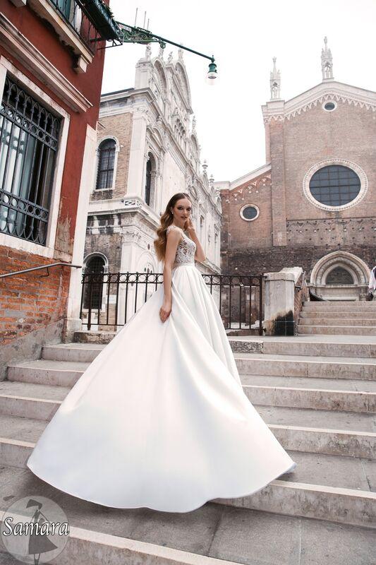 Свадебное платье напрокат Bonjour Платье свадебное «Samara» из коллекции LE DELICE 2018 - фото 2
