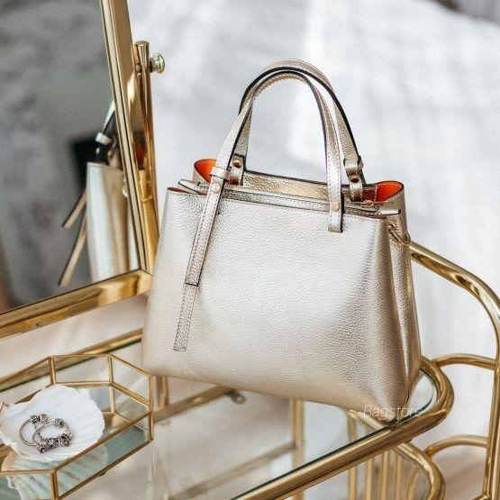 Магазин сумок Vezze Кожаная женская сумка C00514 - фото 2