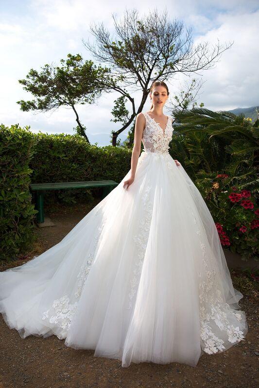 """Свадебное платье напрокат ALIZA свадебное платье """"Lenny"""" - фото 3"""