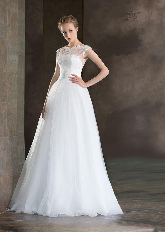 Свадебный салон Destiny Collection Свадебное платье 1709 - фото 1