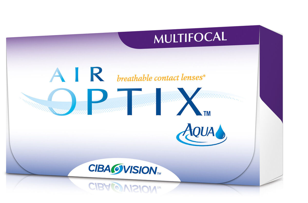 Линзы CIBA Vision Контактные линзы Air Optix Multifocal - фото 1