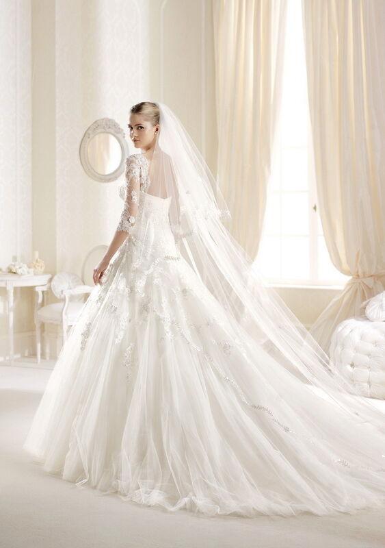 Свадебный салон La Sposa Свадебное платье Igarza - фото 2