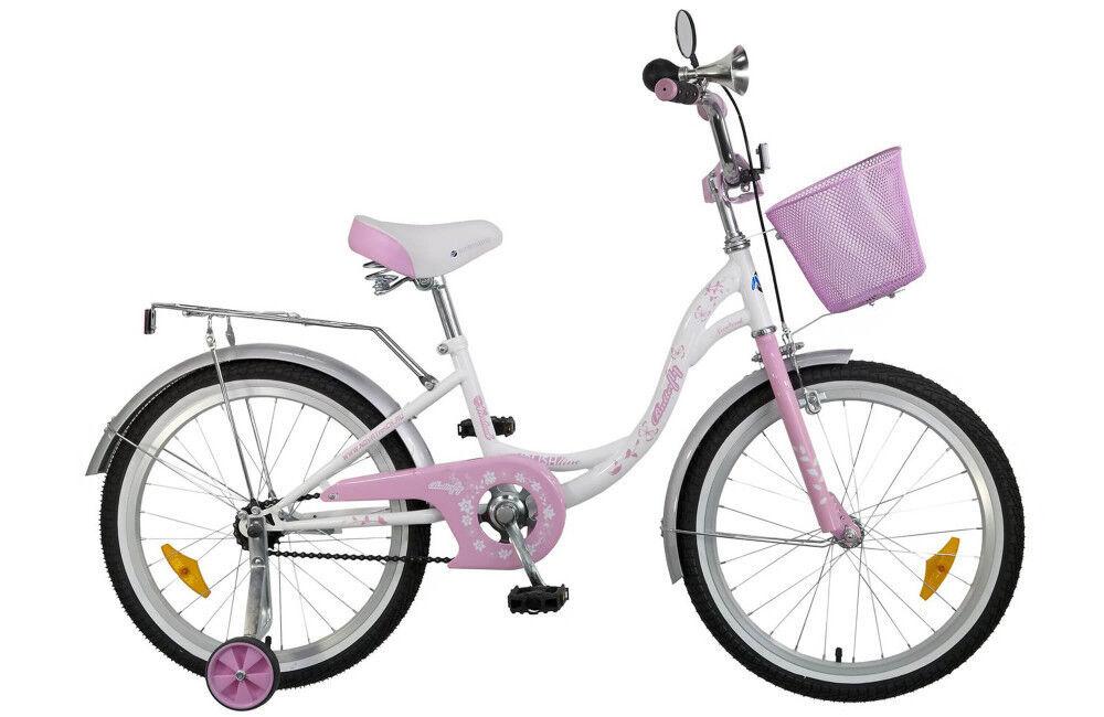 "Велосипед Novatrack Велосипед детский Butterfly 20"" - фото 1"