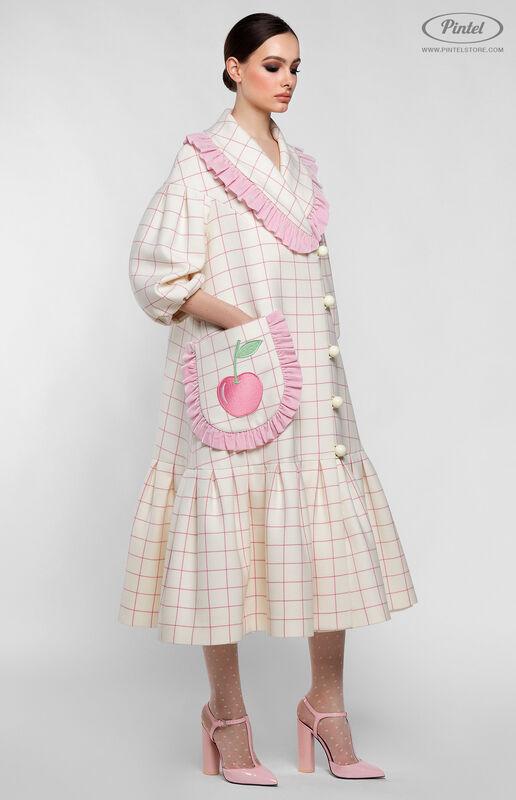 Верхняя одежда женская Pintel™ Пальто силуэта «Трапеция» Freja - фото 2