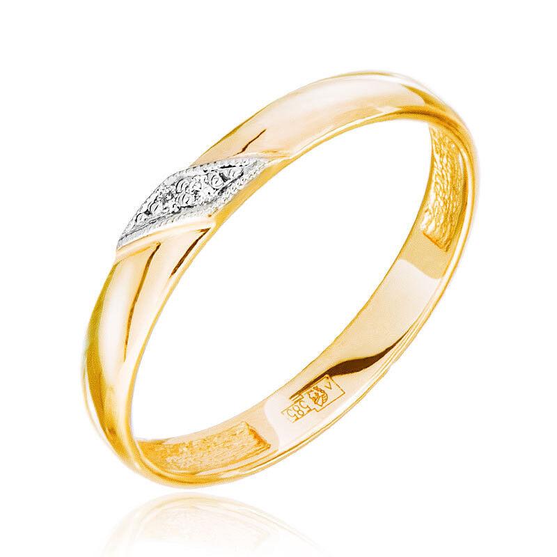 Ювелирный салон Jeweller Karat Кольцо обручальное с бриллиантами арт. 1212492 - фото 1