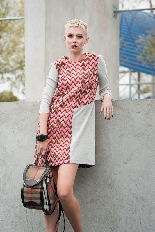 Платье женское MISUTERI Платье Nitto Red MSS0067 - фото 1