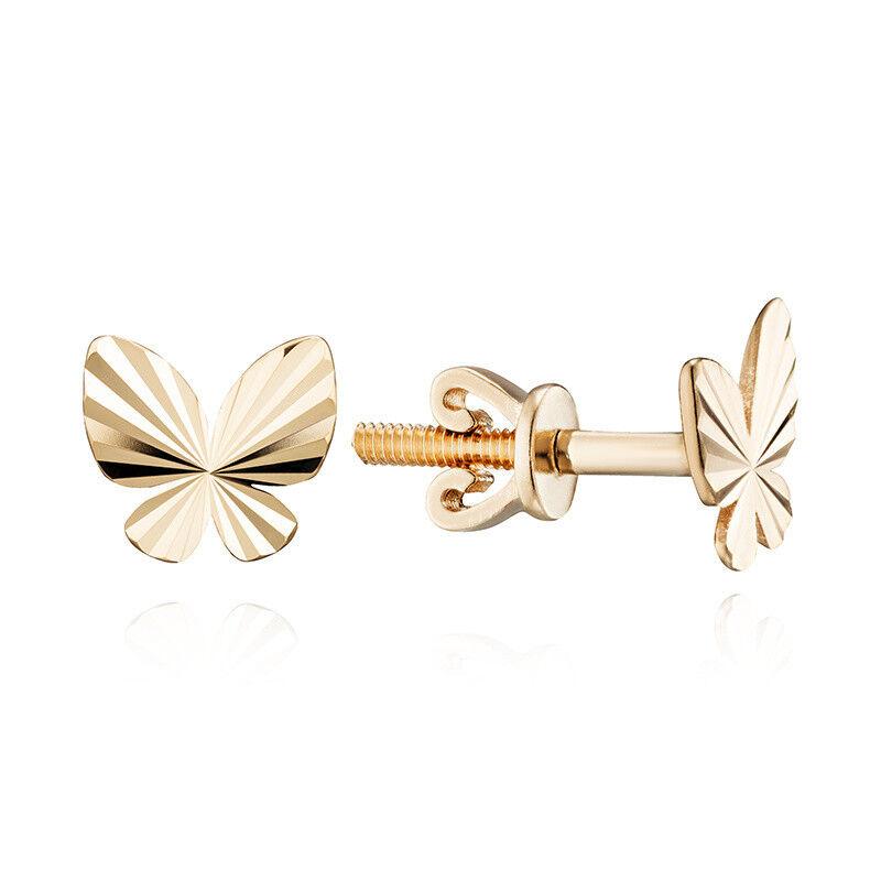 Ювелирный салон Jeweller Karat Серьги золотые арт. 1023744/9 - фото 1