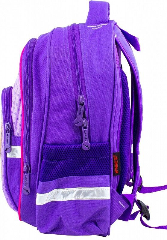 Магазин сумок Winner Рюкзак школьный фиолетовый 906 - фото 2