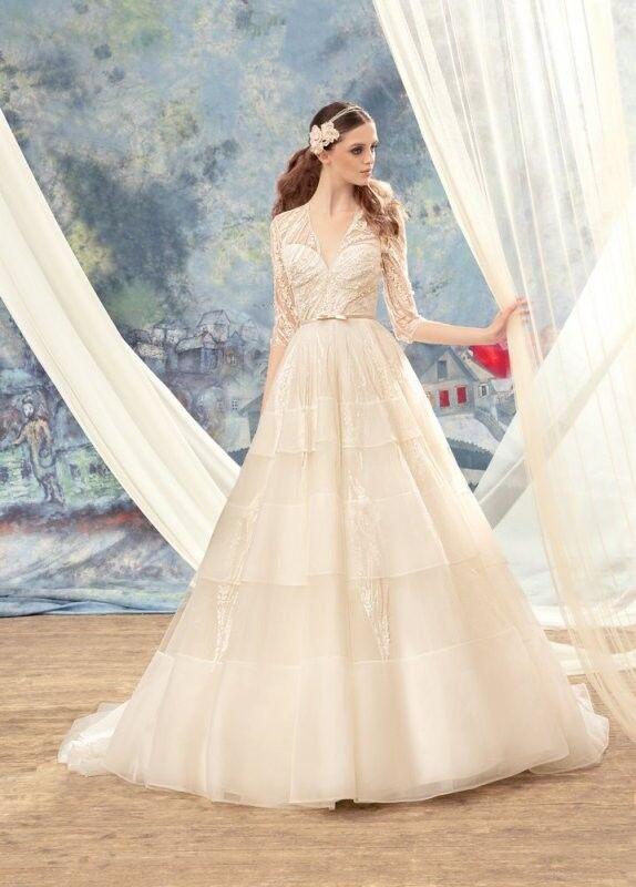 Свадебный салон Papilio Свадебное платье «Свиристель» 1720L - фото 1
