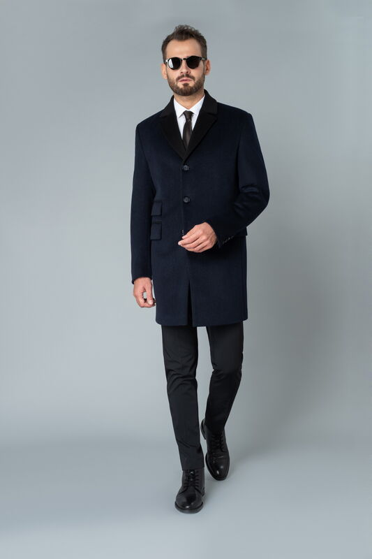 Верхняя одежда мужская Etelier Пальто мужское демисезонное 1М-9126-1 - фото 1