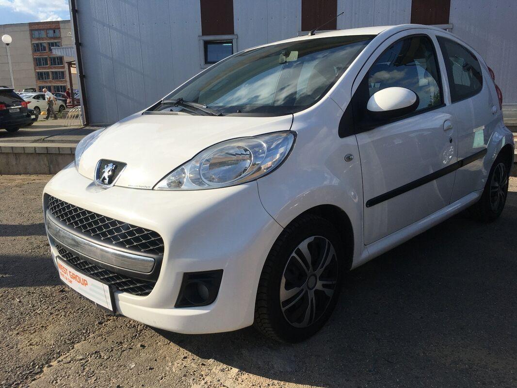 Аренда авто Peugeot 107 белый - фото 2