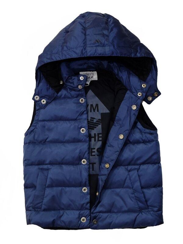 Верхняя одежда детская Armani Junior Куртка для мальчика BXL02 9G - фото 2