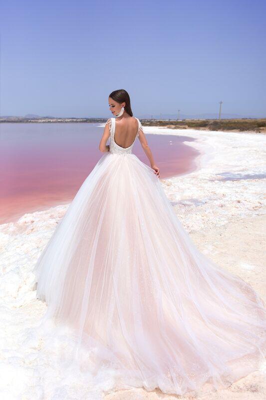 """Свадебное платье напрокат ALIZA Свадебное платье """"Malika"""" - фото 4"""
