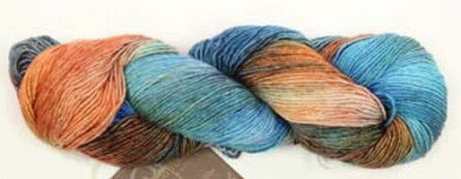 Товар для рукоделия Araucania Пряжа №8 Turquoise Nuble - фото 1