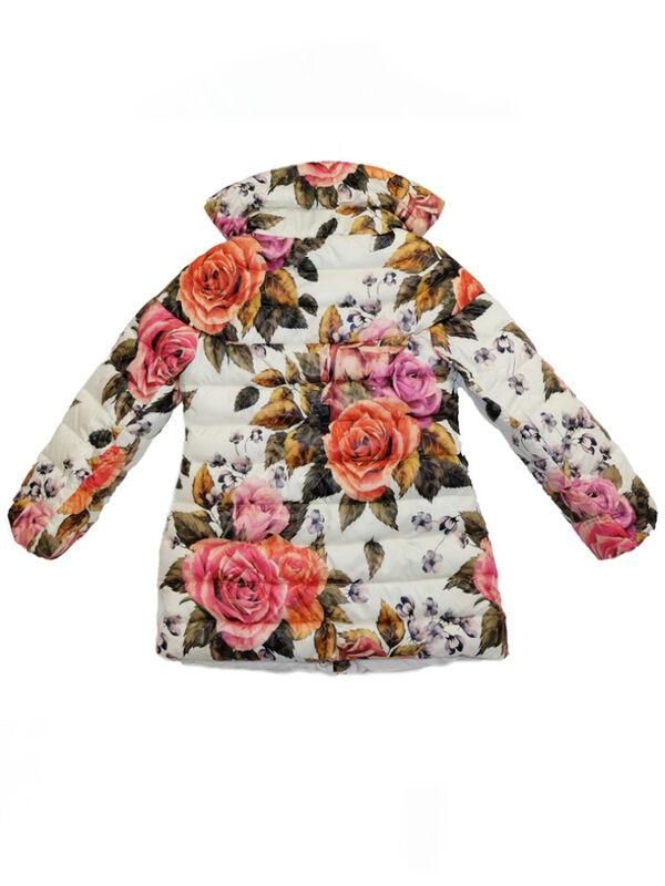 Верхняя одежда детская Monnalisa Пальто для девочки 196120 6086 0001 - фото 2