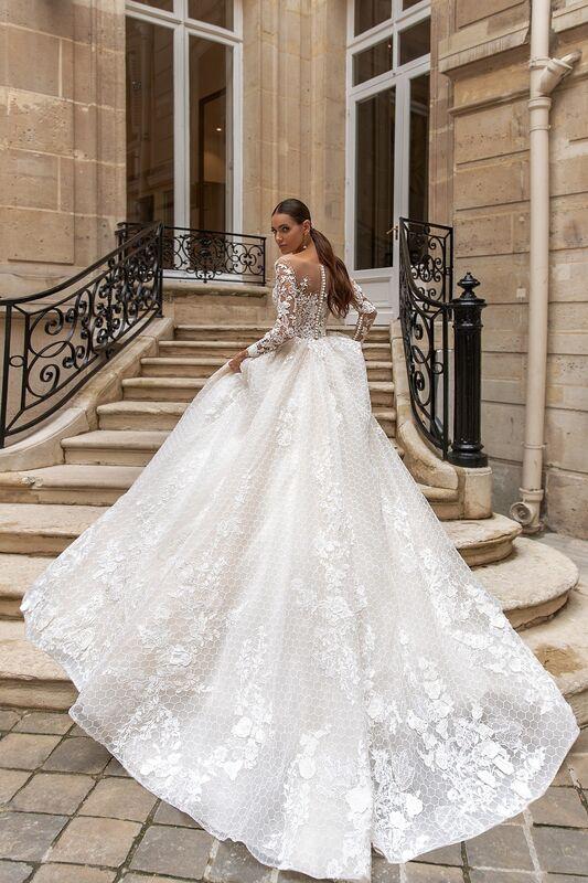 """Свадебное платье напрокат ALIZA свадебное платье """"Jullietty"""" - фото 4"""