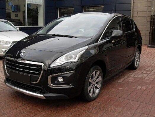 Прокат авто Peugeot 3008 чёрный - фото 1