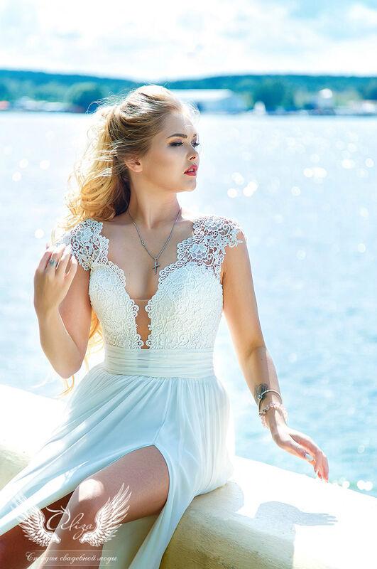 Свадебное платье напрокат ALIZA Свадебное платье «Lizi» Ameli Benya - фото 2