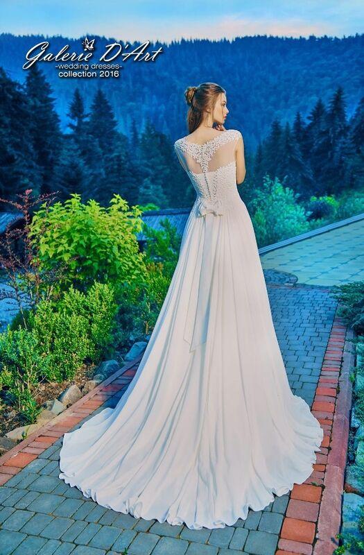 Свадебное платье напрокат Galerie d'Art Платье свадебное «Ассоль» из коллекции BESTSELLERS - фото 1
