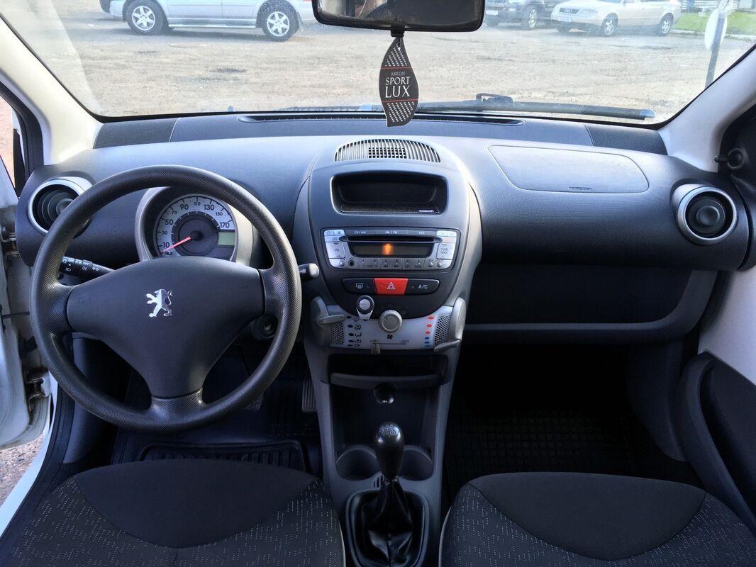 Аренда авто Peugeot 107 белый - фото 9