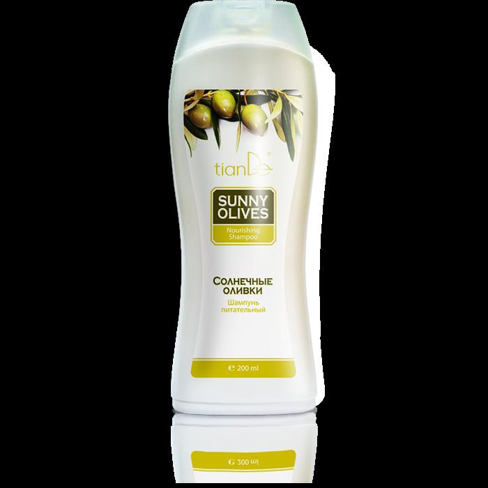 Уход за волосами tianDe Шампунь питательный «Солнечные оливки» - фото 1