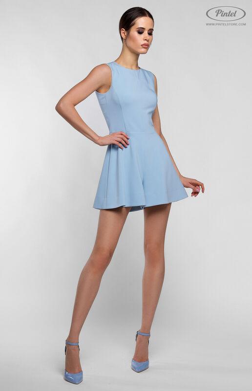 Верхняя одежда женская Pintel™ Комплект из пальто и комбинезона с укороченными шортами Parsis - фото 6