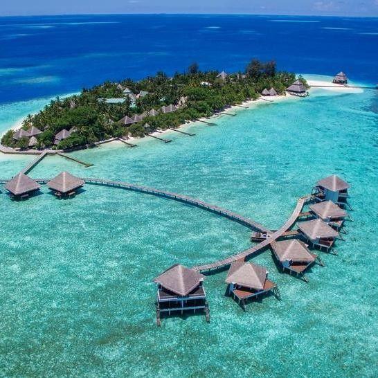 Туристическое агентство География путешествий Пляжный тур на Мальдивы, Мале, Adaaran Club Rannalhi 4* - фото 1
