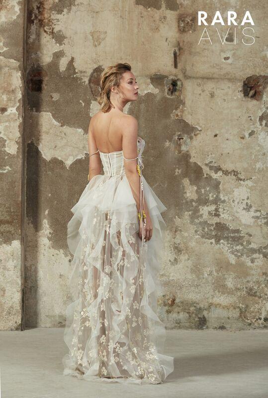 Свадебное платье напрокат Rara Avis Платье свадебное Floral Paradise  Bertel - фото 2