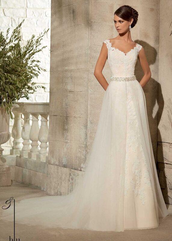Свадебное платье напрокат Mori Lee Платье свадебное 5316 - фото 2