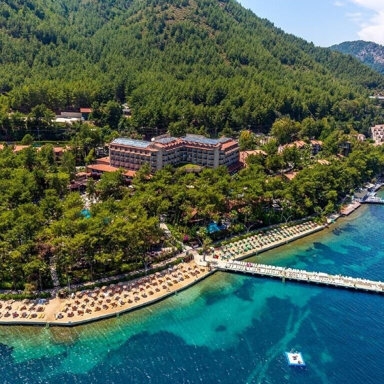 Туристическое агентство Голд Фокс Трэвел Пляжный aвиатур в Турцию, Мармарис, Grand Yazici Club Marmaris Palace HV-1 - фото 1