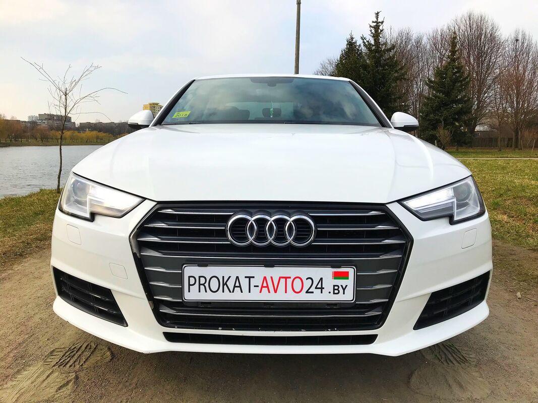 Прокат авто Audi A4 B9 S-line 2017 - фото 2