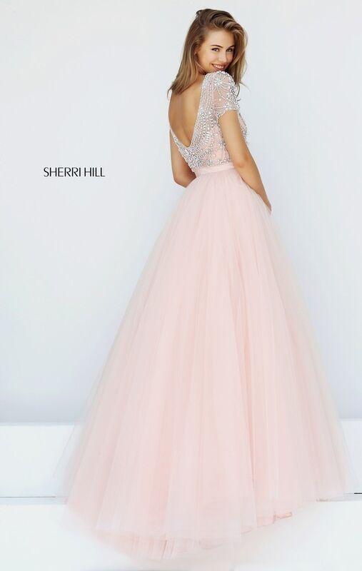 Свадебное платье напрокат Sherri Hill Платье свадебное 50710 - фото 4