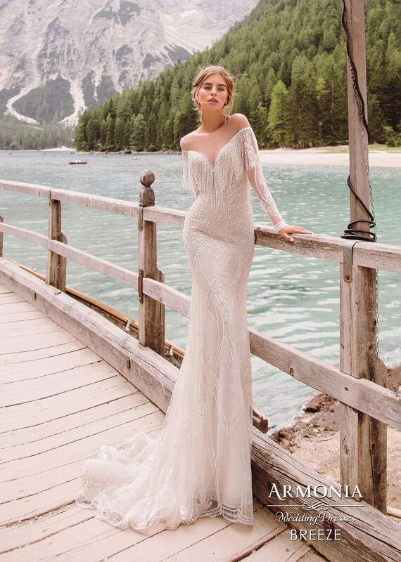 Свадебный салон Armonia Свадебное платье Breeze - фото 1