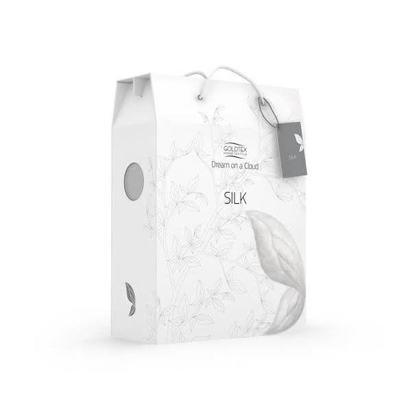 Подарок Голдтекс Шелковое одеяло LUX евро 200х220 арт. 1106 - фото 2