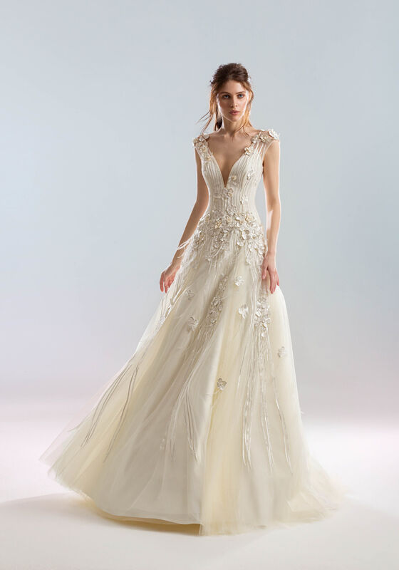 Свадебный салон Papilio Свадебное платье «Муссон» - фото 1