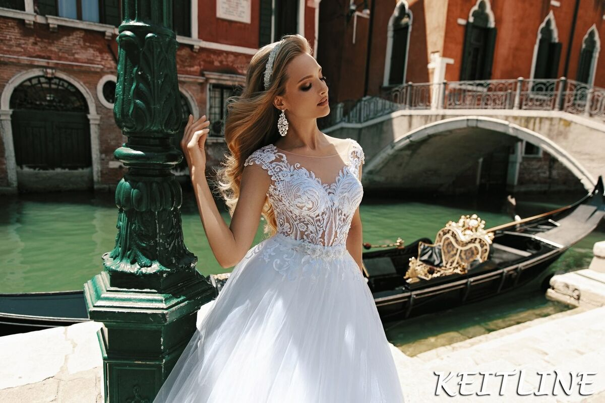Свадебный салон Bonjour Galerie Свадебное платье Keitline из коллекции La Douceur - фото 3