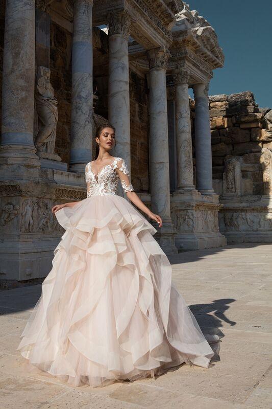 Свадебное платье напрокат ALIZA Свадебное платье «Monika» - фото 1