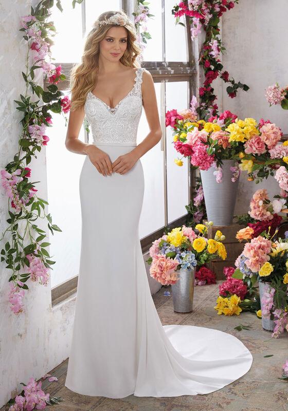 Свадебное платье напрокат Mori Lee Свадебное платье 6853 - фото 1