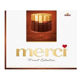 Подарок на Новый год Storck Шоколад «Merci: Finest Selection», 250 гр. (горький) - фото 1