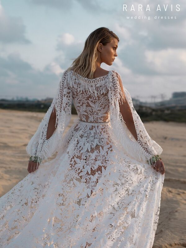 Свадебный салон Rara Avis Платье свадебное Wild Soul Omrish - фото 2