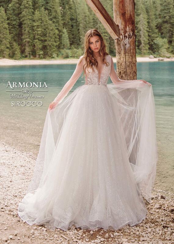 Свадебный салон Armonia Свадебное платье Sirocco - фото 1