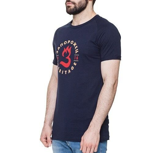 Кофта, рубашка, футболка мужская Запорожец Футболка «Пламя» - фото 6