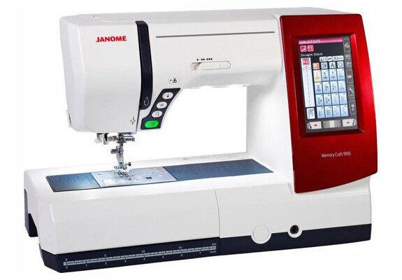 Товар для рукоделия Janome Швейно-вышивальная машина MC9900 - фото 1