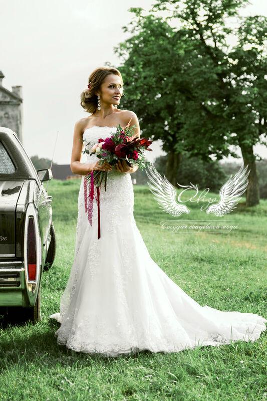 Свадебное платье напрокат ALIZA Свадебное платье «Mariel» Diva Vivien - фото 1