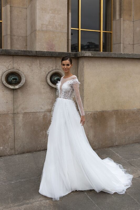 """Свадебное платье напрокат ALIZA свадебное платье """"Rossy"""" - фото 1"""